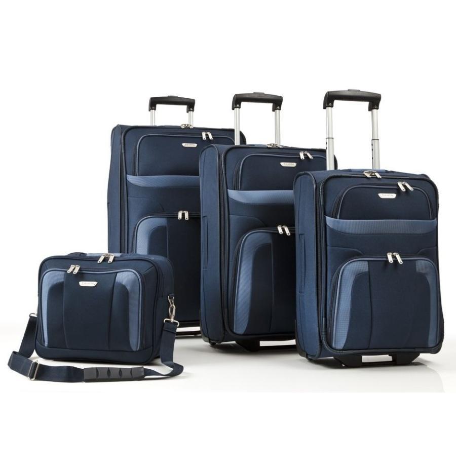 Cestovní kufry set 4ks Travelite Orlando S,M,L,B 98480-20 193 L modrá