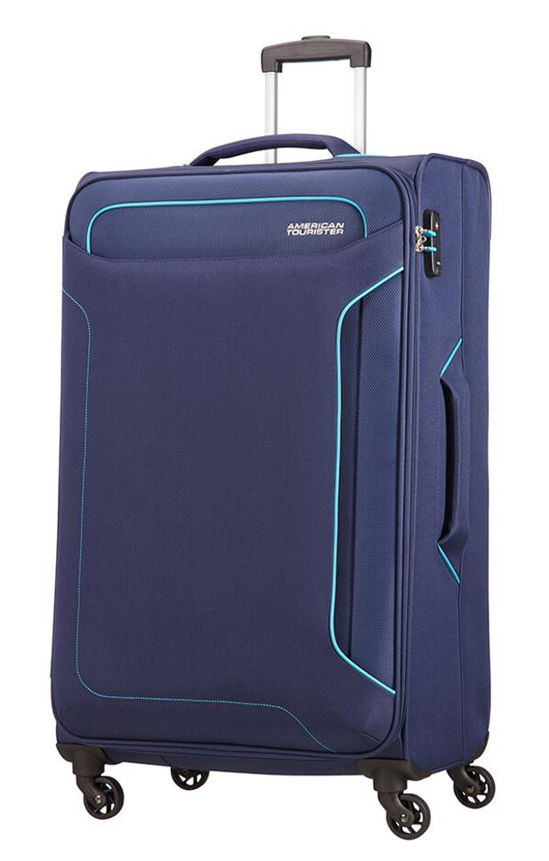 Cestovní kufr American Tourister Holiday Heat 4w L 50G006-41 108 L modrá