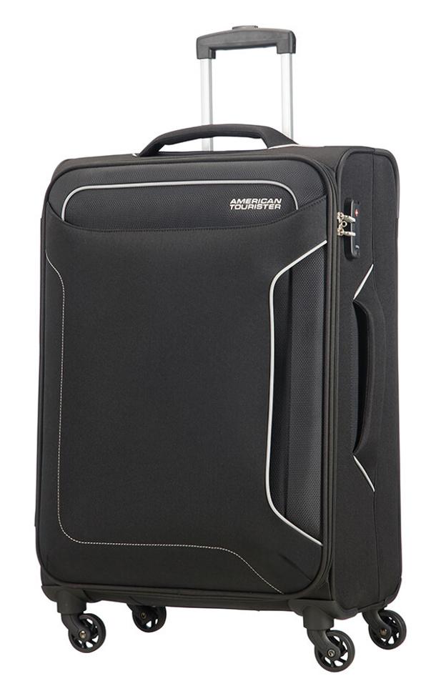 Cestovní kufr American Tourister Holiday Heat 4w M 50G005-09 66 L černá