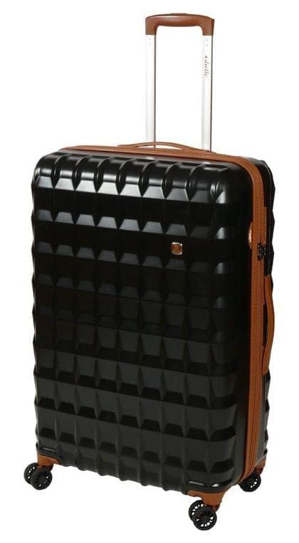Cestovní kufr Dielle PP L 356-75-01 85 L černá