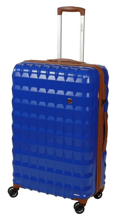 Cestovní kufr Dielle PP L 356-75-05 85 L modrá