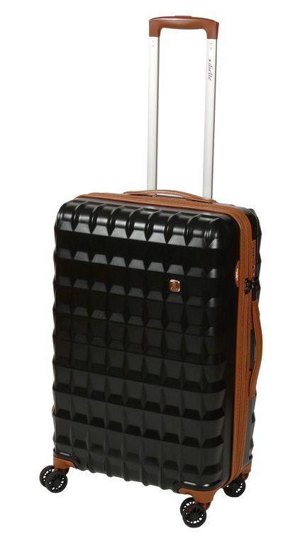 Cestovní kufr Dielle PP M 356-65-01 55 L černá