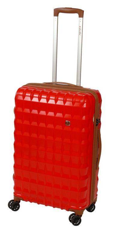 Cestovní kufr Dielle PP M 356-65-02 55 L červená