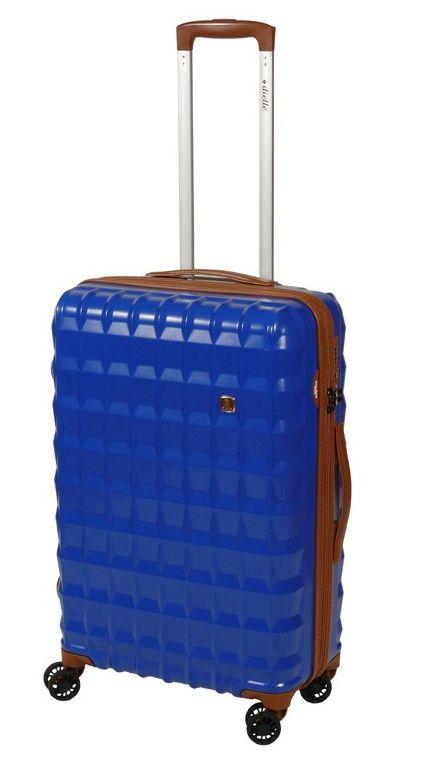 Cestovní kufr Dielle PP M 356-65-05 55 L modrá