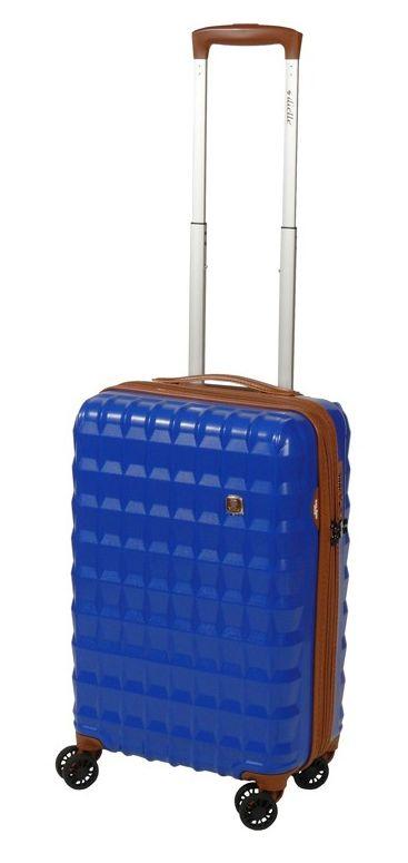 Cestovní kufr Dielle PP S 356-55-05 30 L modrá