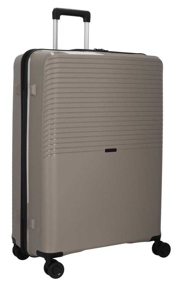 Cestovní kufr d&n 4W L PP 4070-03 100 L krémová