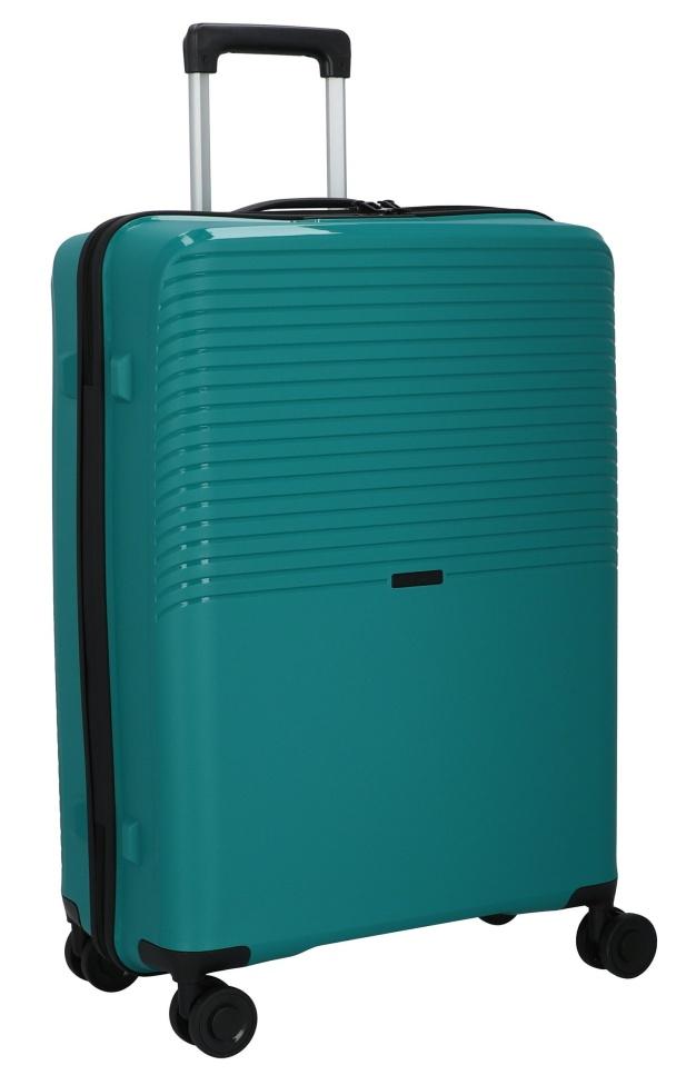 Cestovní kufr d&n 4W L PP 4070-05 100 L petrolejová