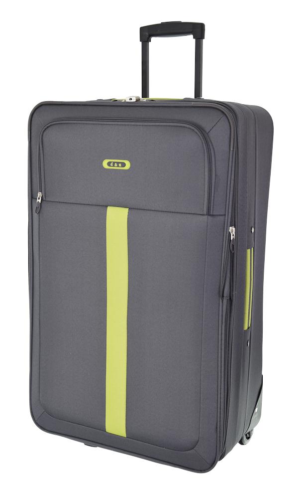 Cestovní kufr d&n L 9370N-13 šedá