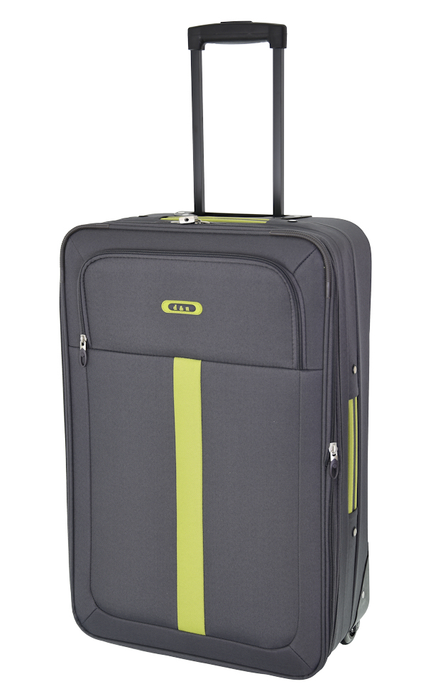 Cestovní kufr d&n M 9360N-13 52 L šedá