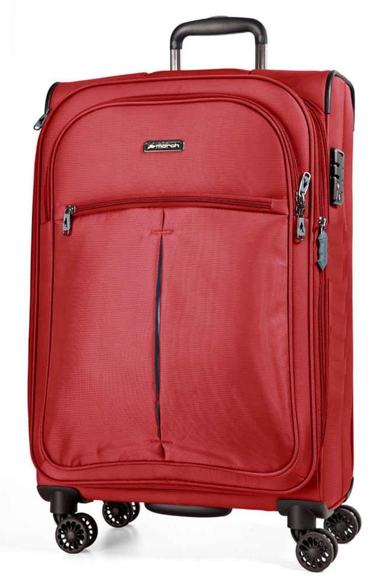 Cestovní kufr March Arrow S 2040-52-01 37 L červená