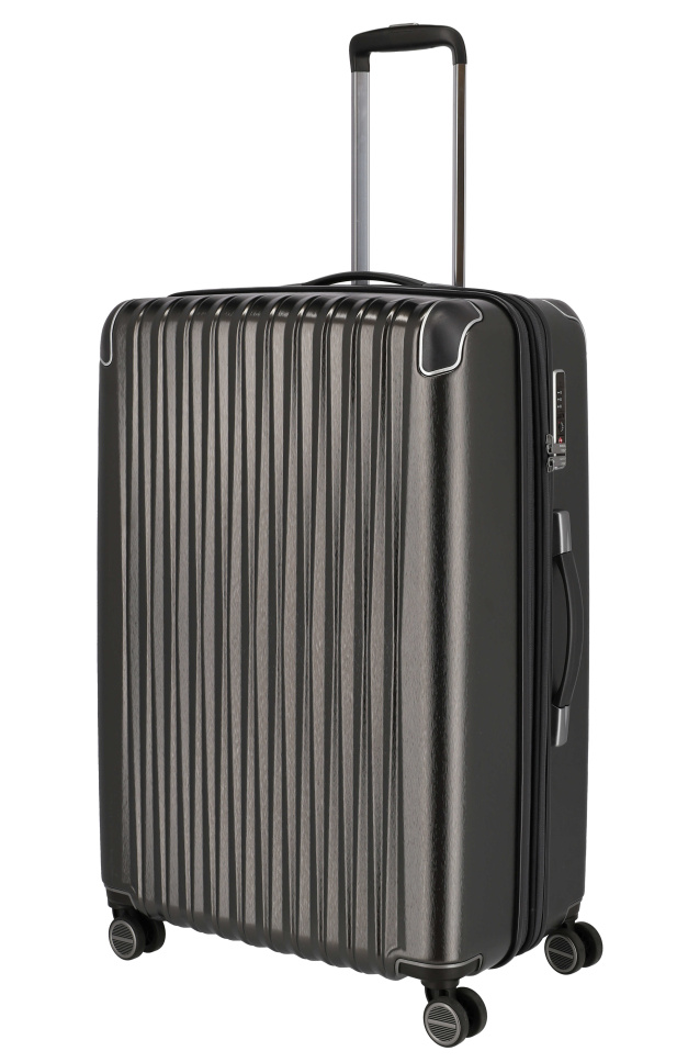 Cestovní kufr Titan Barbara Glint L 845404-04 100 L antracitová