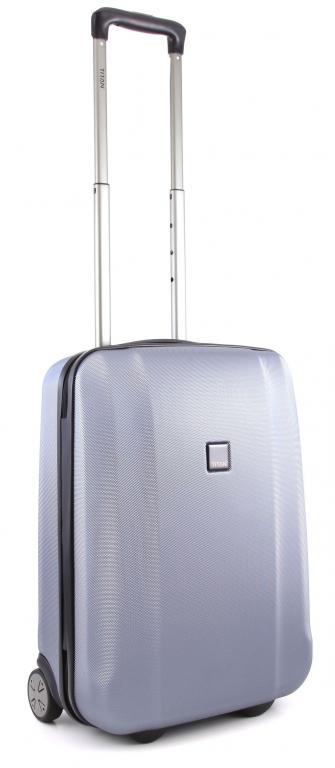 Cestovní kufr Titan Xenon S 809403-25 36 L modrá