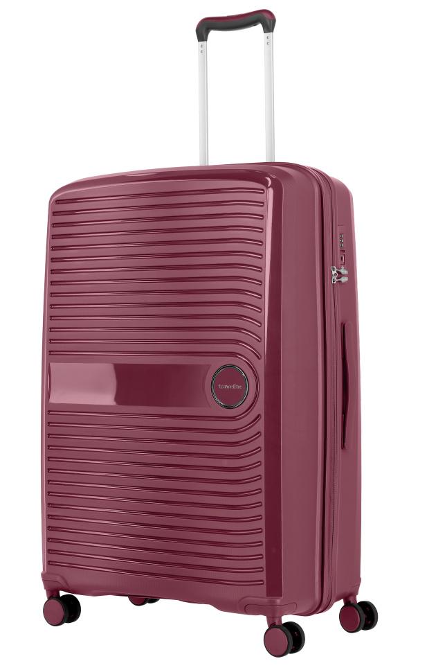 Cestovní kufr Travelite CERIS w4 L 75649-19 100 L růžová