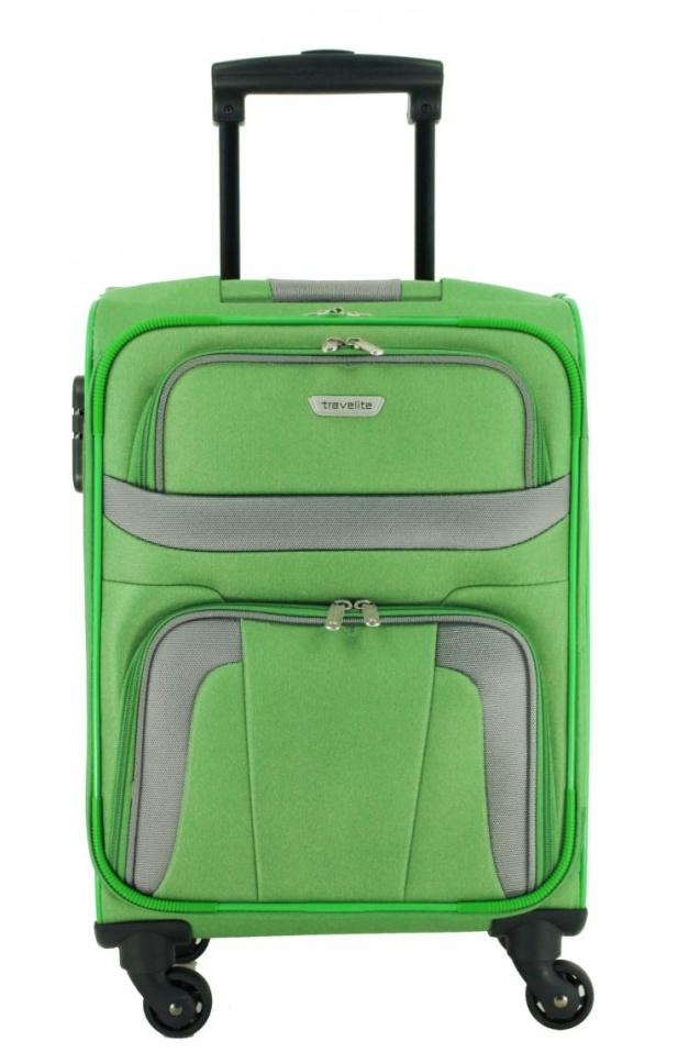 Cestovní kufr Travelite Orlando 4W S 98547-80 35 L zelená