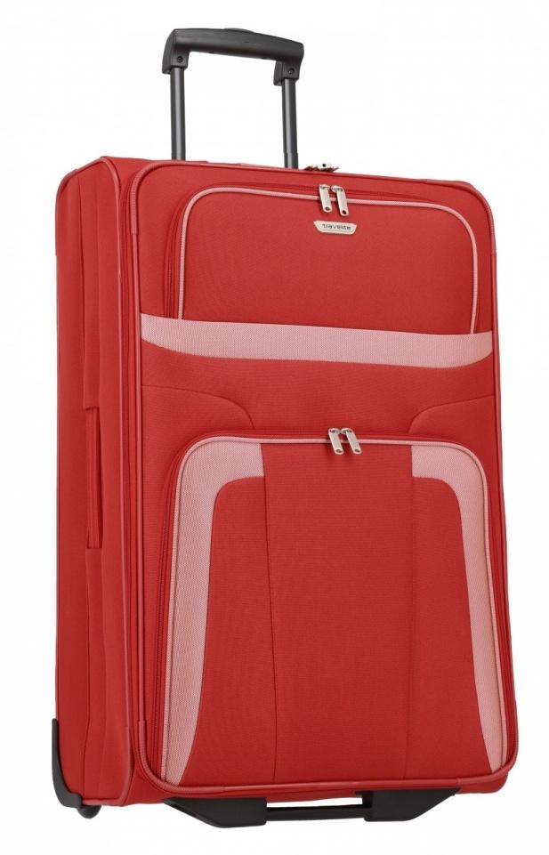 Cestovní kufr Travelite Orlando L 98489-10 80 L červená