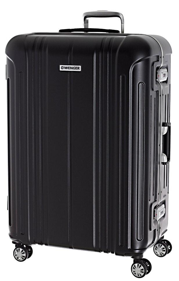 Cestovní kufr Wenger PC Frame Deluxe L WG6595-2021-77 109 L černá
