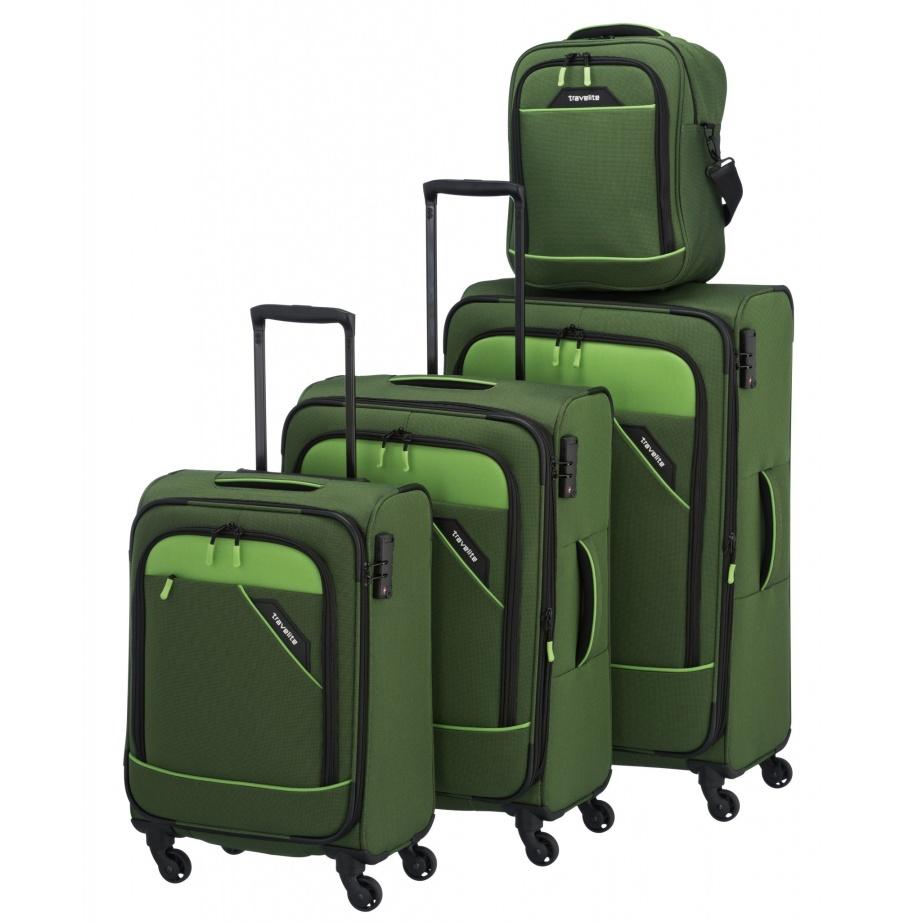 Cestovní kufry set 4ks Travelite Derby S,M,L,B