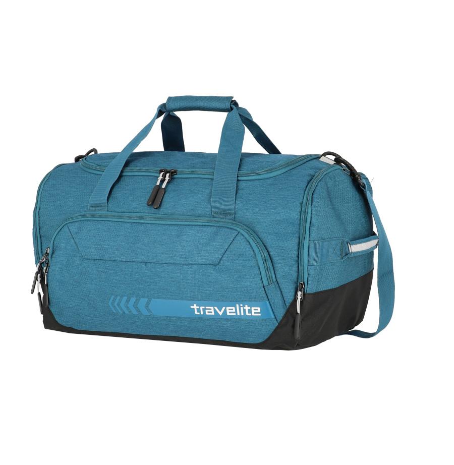 Cestovní taška Travelite KICK OFF M 6914-22 45 L modrá