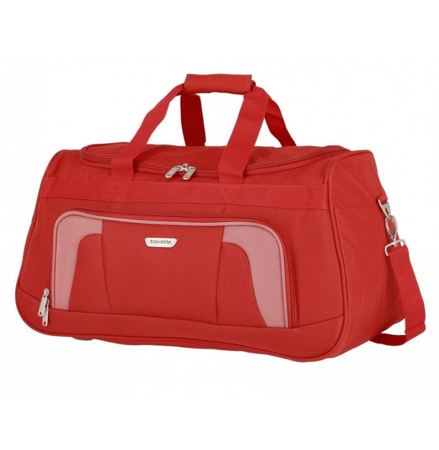 Cestovní taška Travelite Orlando 98486-10 50 L červená