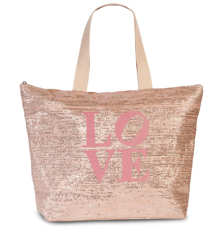 Dámská taška Fabrizio Love 55197-2100 22 L růžová