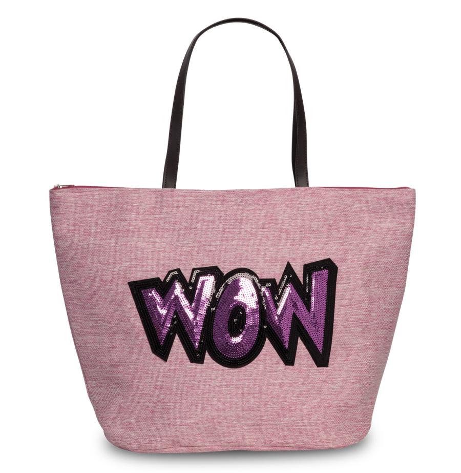 Dámská taška Fabrizio WOW 55194-3100 22 L růžová