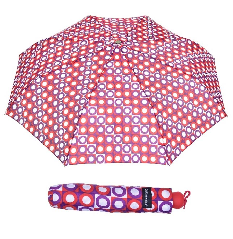 Deštník Snowball 5022B-02 červená