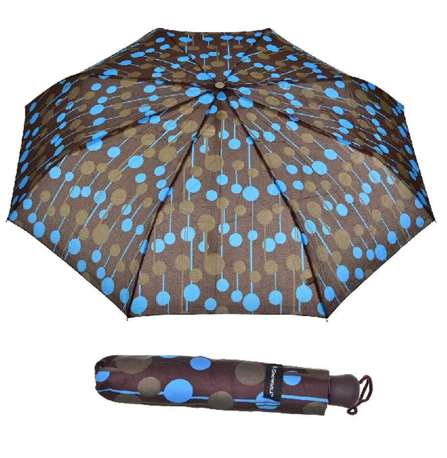 Deštník Snowball 5022B-06 hnědá