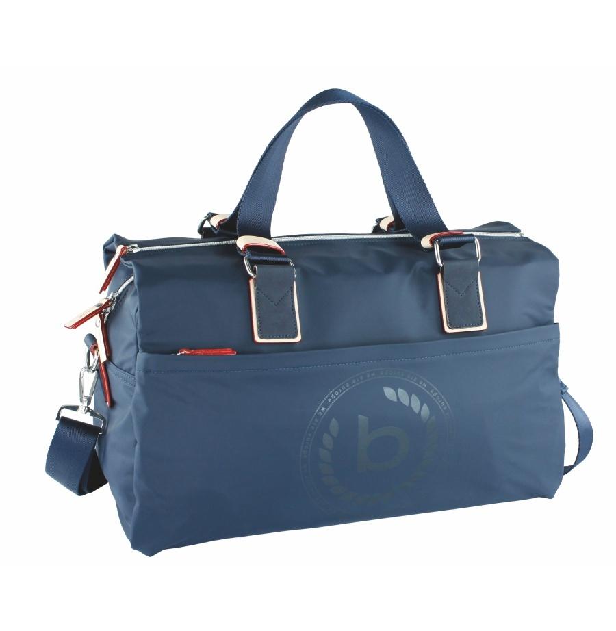 Dámská cestovní taška Bugatti Lido 493608-23 28 L modrá