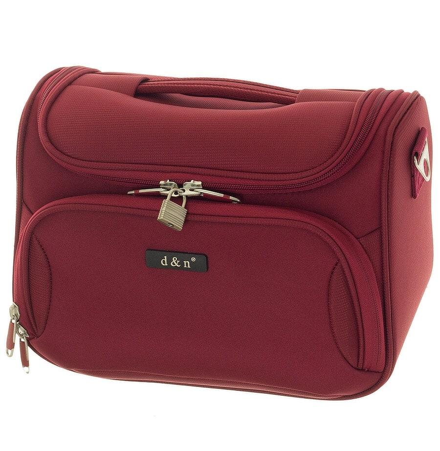 Kosmetický kufr d&n 6430-12 16 L červená