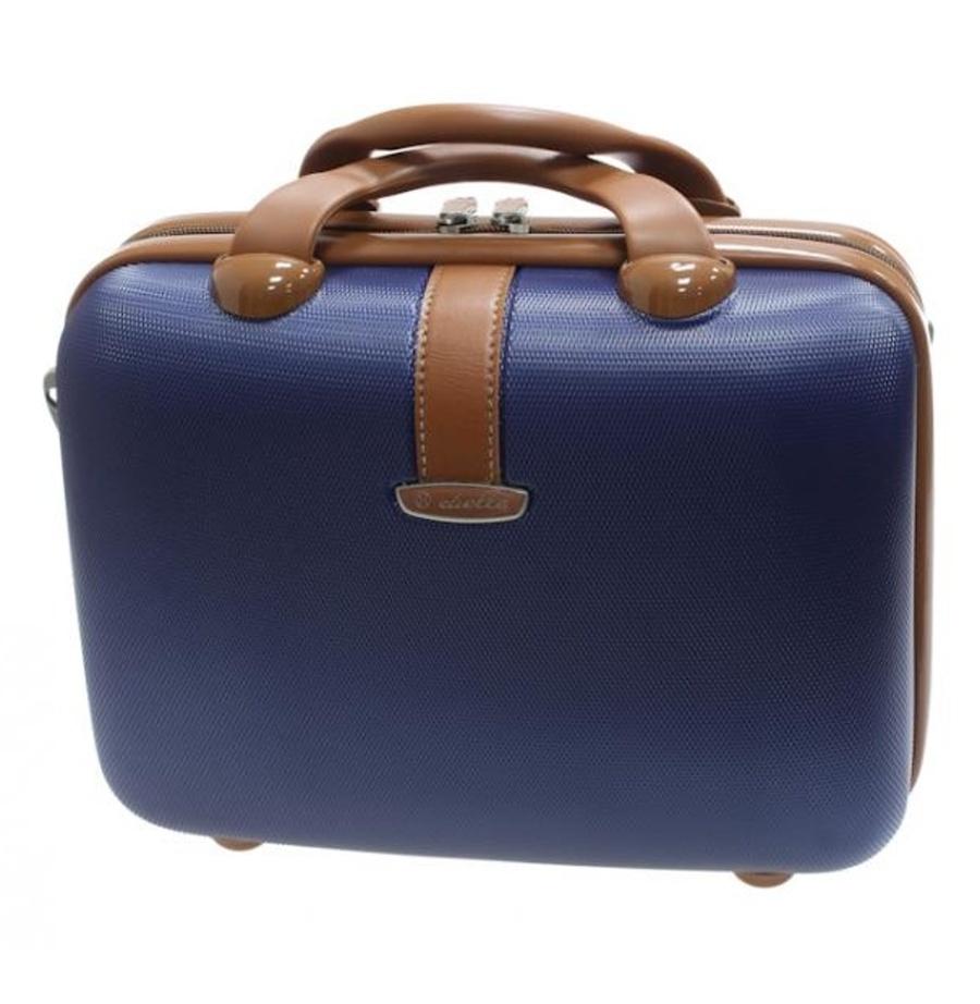 Kosmetický kufr Dielle 255-B-05 10 L modrá
