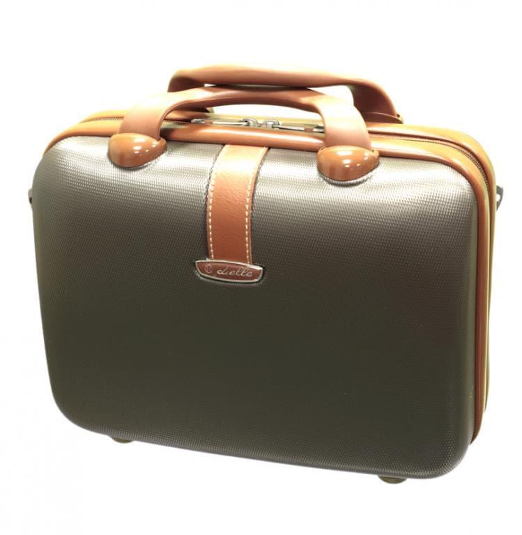 Kosmetický kufr Dielle 255-B-25 10 L hnědá