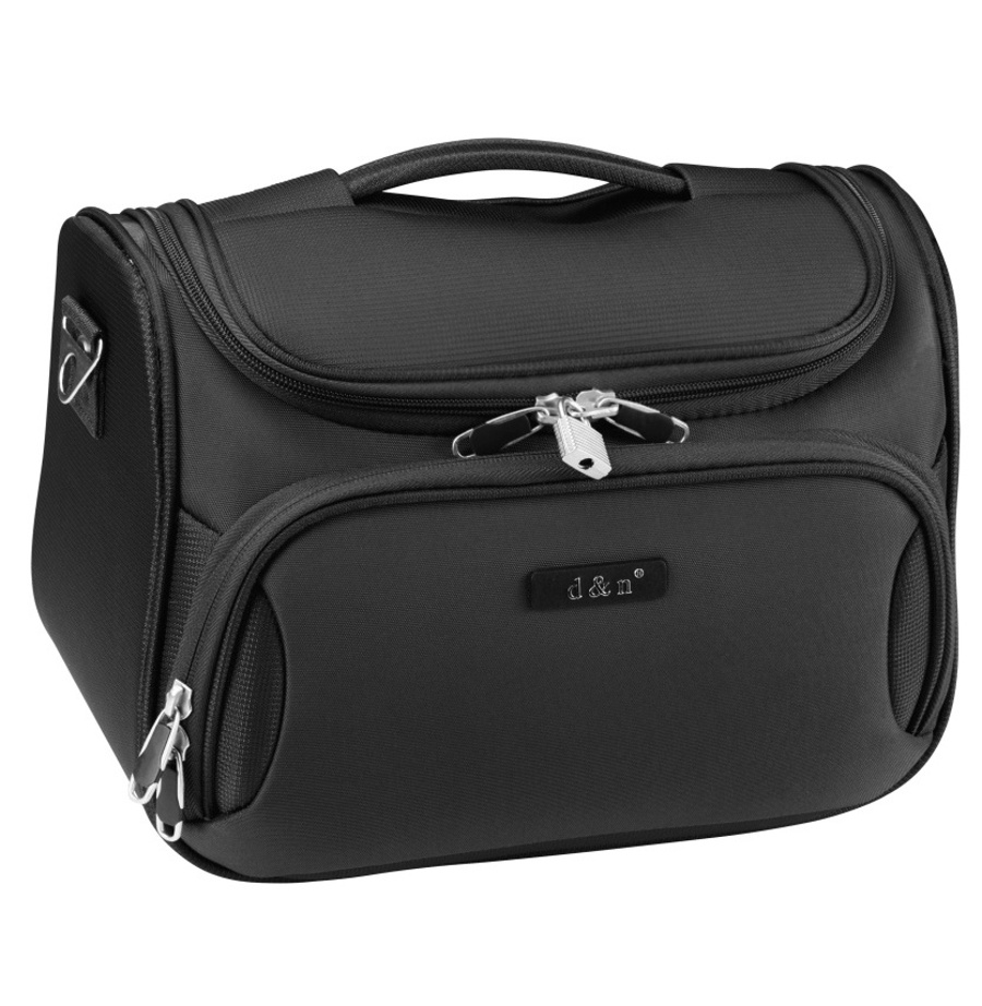 Kosmetický kufr d&n 6430-11 16 L černá