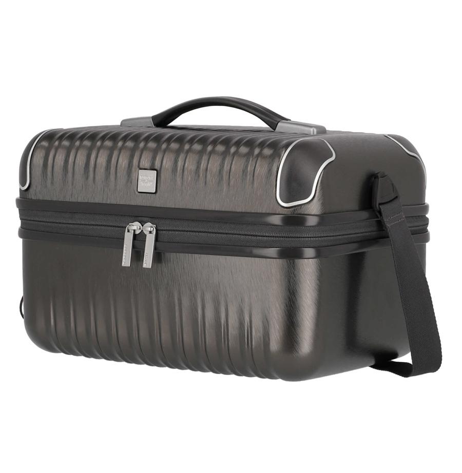 Kosmetický kufr Titan Barbara Glint 845702-04 12 L antracitová