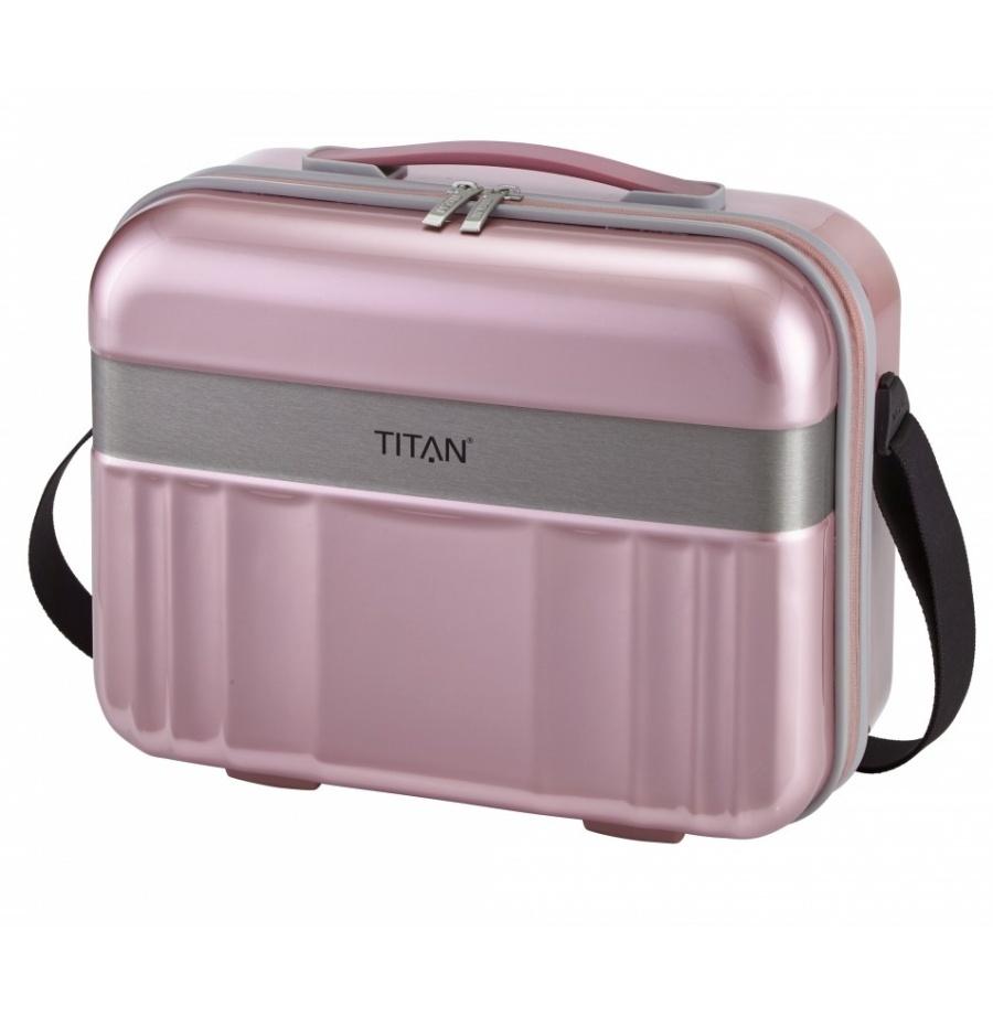 Kosmetický kufr Titan Spotlight Flash 831702-12 21 L růžová