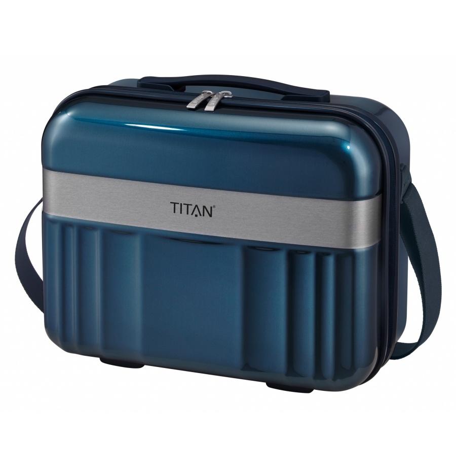 Kosmetický kufr Titan Spotlight Flash 831702-22 21 L modrá
