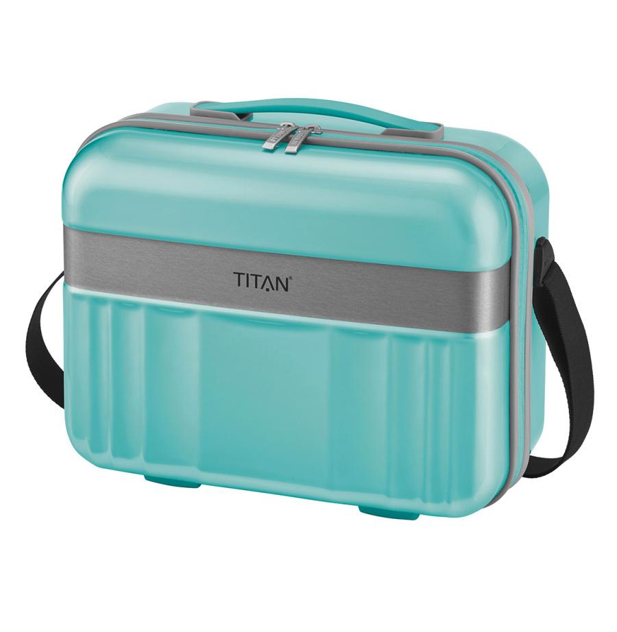 Kosmeticky kufr Titan Spotlight polykarbonat 836702-81 20 L tyrkysová