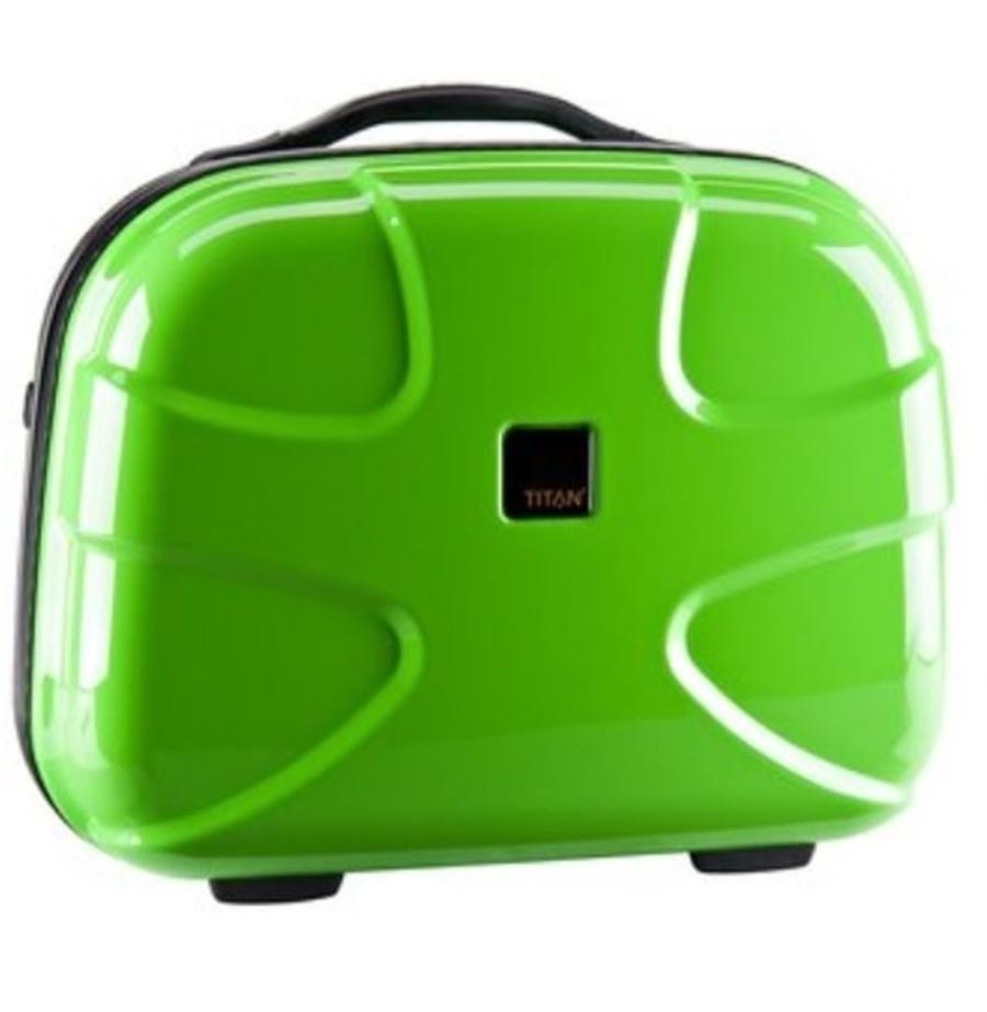 Kosmetický kufr Titan X2 Flash 80170201-13 22 L zelená