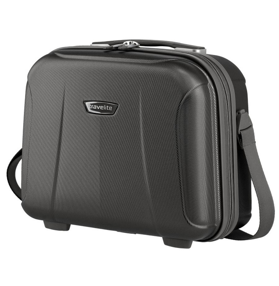 Kosmetický kufr Travelite ELBE 75502-04 19 L antracitová