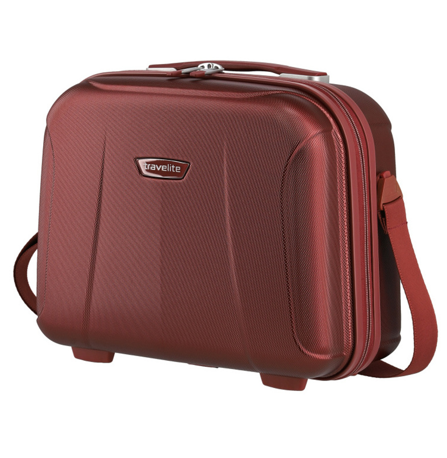 Kosmetický kufr Travelite ELBE 75502-10 19 L červená