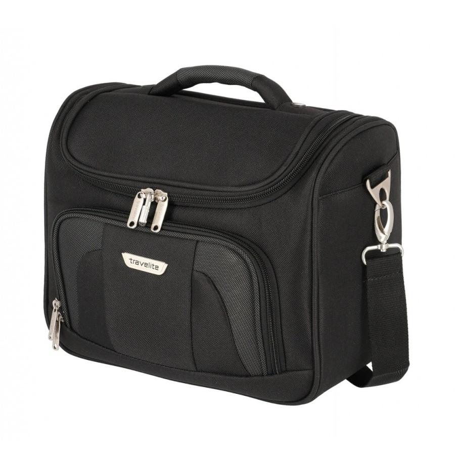 Kosmetický kufr Travelite Orlando 98492-01 17 L černá
