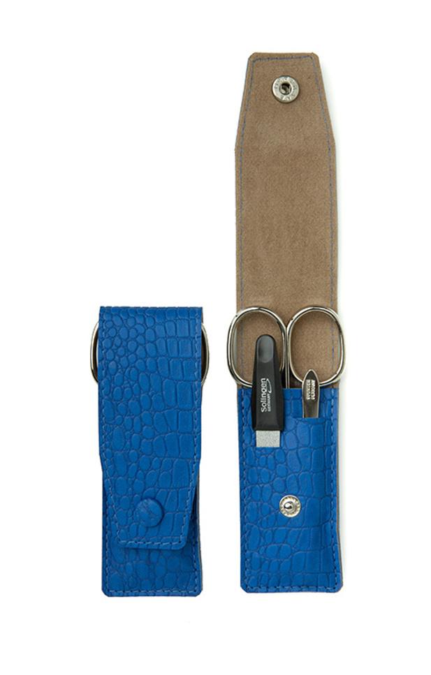 Manikúrová sada Premium Line 3-dílná PL891 modrá