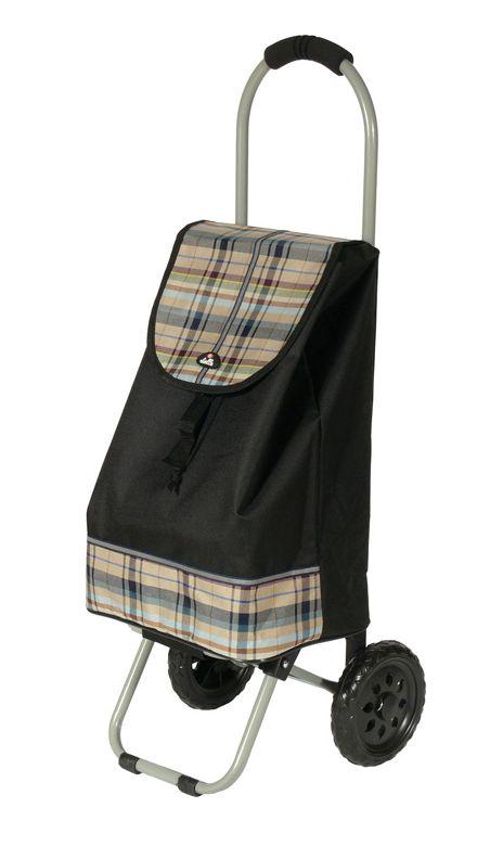 Nákupní taška na kolečkách Dielle CARR1-01 31 L černá