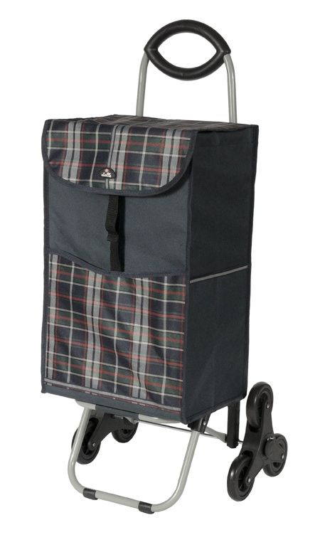 Nákupní taška na kolečkách Dielle CARR3-01 44 L černá