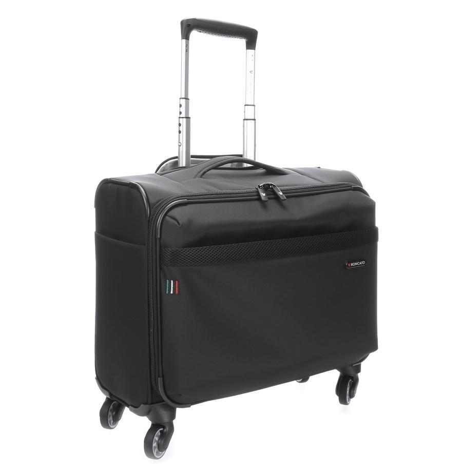 Pilotní kufr Roncato Venice 405166-01 43 L černá