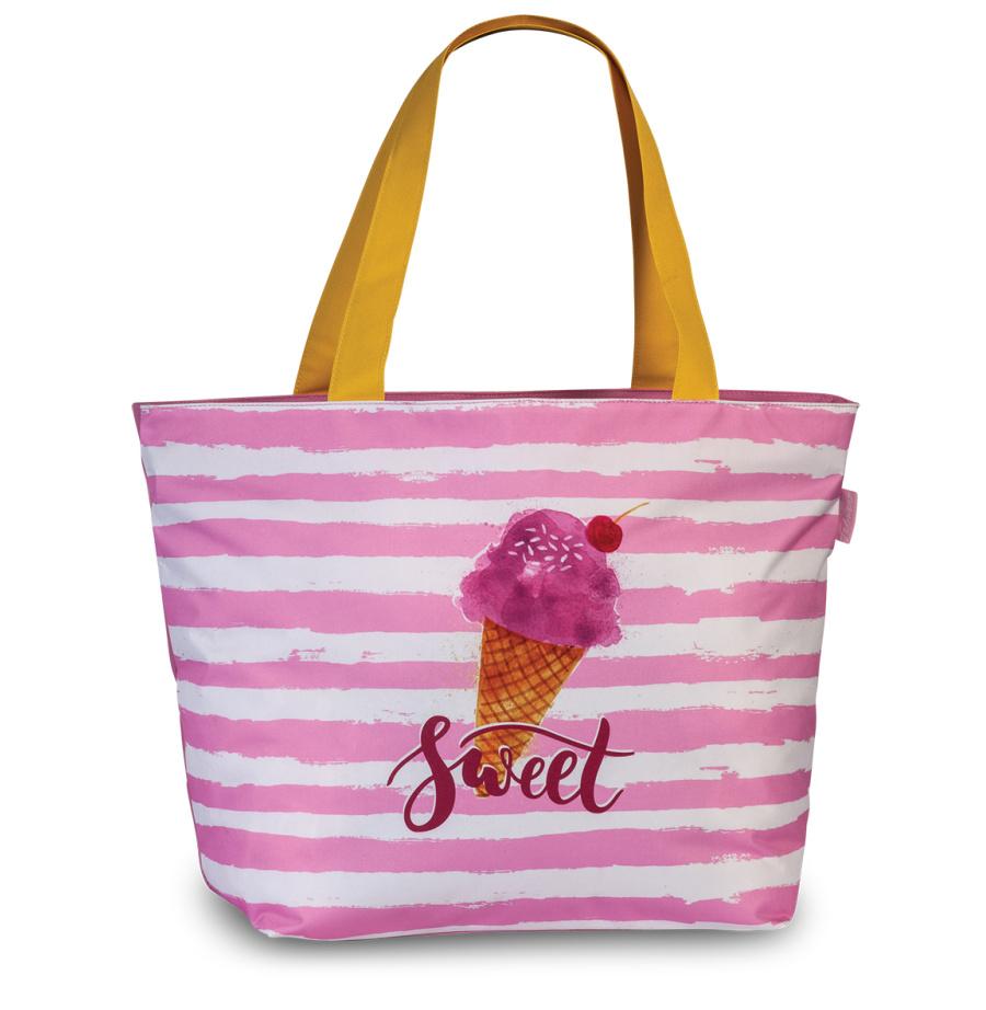 Plážová taška Fabrizio Sweet 50343-2100 30 L růžová