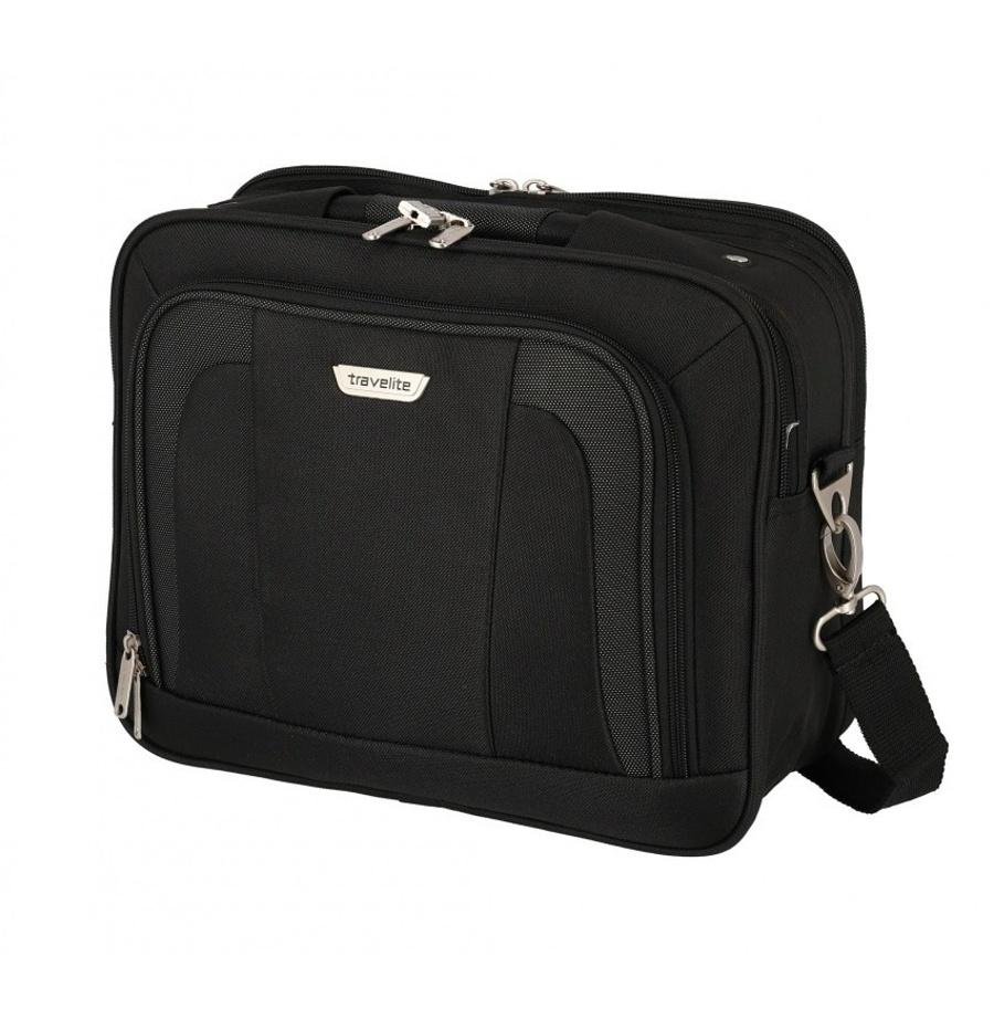 Taška do letadla Travelite Orlando 98484-01 18 L černá