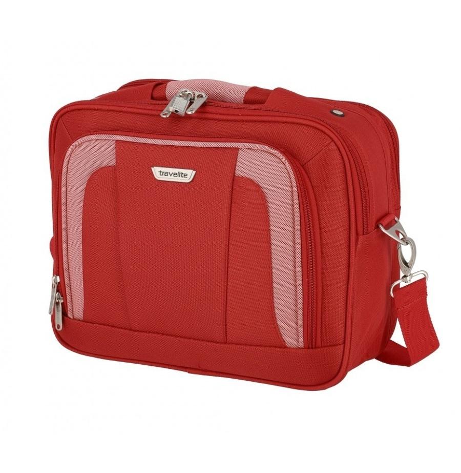 Taška do letadla Travelite Orlando 98484-10 18 L červená