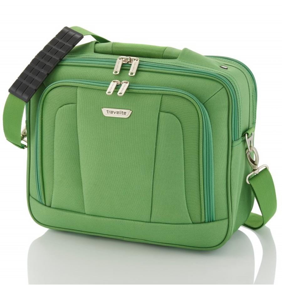 Taška do letadla Travelite Orlando 98484-80 18 L zelená