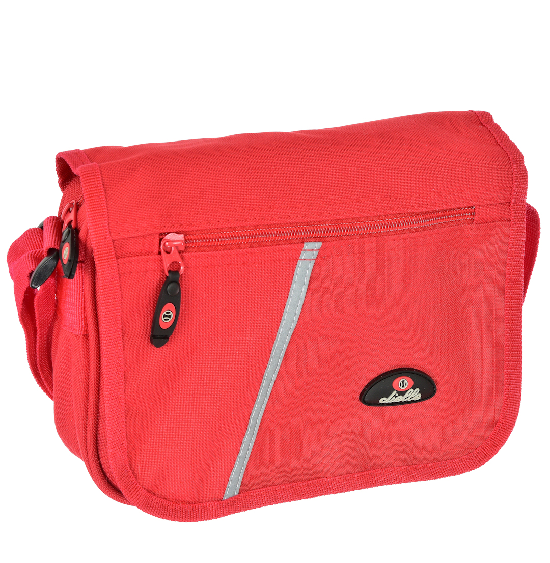 Taška přes rameno Dielle Bologna 3936-02 1 L červená