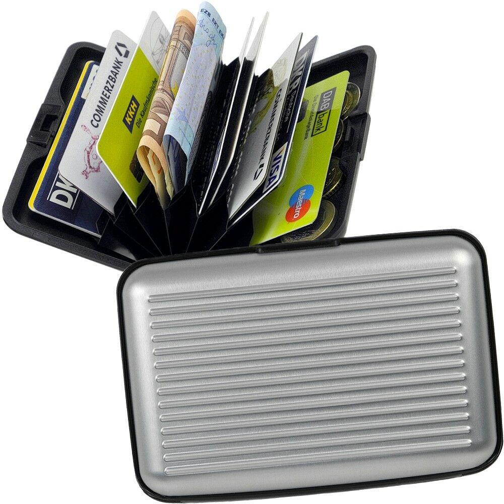 Fabrizio Pouzdro RFID Aluminium 10324-3500 stříbrná